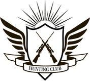 Clube de caça ilustração royalty free