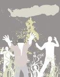 Clube de dança (coloc seu texto aqui) Imagem de Stock Royalty Free