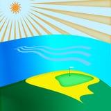 Clube de golfe Ilustração Royalty Free