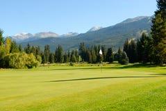 Clube de golfe do assobiador Imagem de Stock Royalty Free