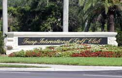 Clube de golfe internacional do trunfo Foto de Stock Royalty Free