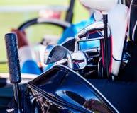 Clube de golfe Saco com clubes de golfe Imagem de Stock