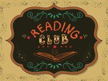 Clube de leitura Fotografia de Stock
