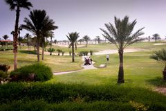 Clube de Maritim Joli Ville Golf Imagem de Stock