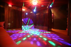 Clube de noite vazio Fotos de Stock Royalty Free