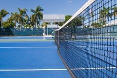 Clube de tênis do recurso fotografia de stock royalty free