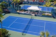 Clube de tênis do recurso fotos de stock
