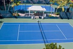 Clube de tênis do recurso foto de stock royalty free