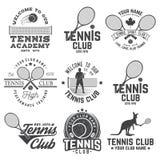 Clube de tênis Ilustração do vetor ilustração stock