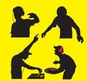 Clube DJ Imagem de Stock