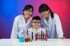 Clube do amador da química Fotos de Stock Royalty Free
