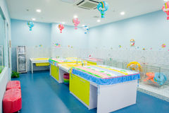 Clube do banho do bebê Imagem de Stock
