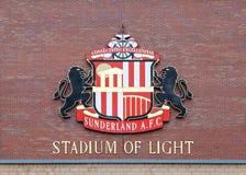 Clube do futebol de Sunderland imagem de stock royalty free