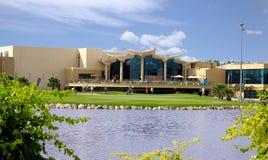 Clube do golfe & do tiro de Sharjah imagem de stock