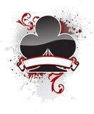Clube do póquer Fotos de Stock
