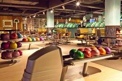 Clube interior do bowling Foto de Stock Royalty Free