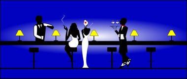 Clube nocturno Fotografia de Stock Royalty Free