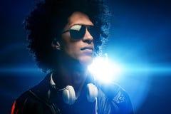 Clube nocturno DJ Imagens de Stock