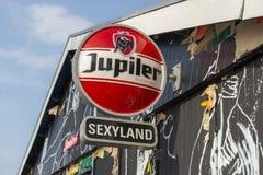 Clube noturno Amsterdão do conceito de Sexyland, Países Baixos fotos de stock