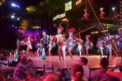 Clube noturno de Havana Cuba Tropicana fotos de stock royalty free