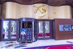 Clube noturno de Las Vegas XS Imagem de Stock Royalty Free