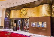 Clube noturno Las Vegas de XS Fotografia de Stock Royalty Free