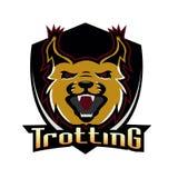 Clube trotando da equipe profissional do logotipo Fotos de Stock Royalty Free