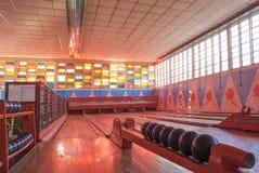 Clube velho do bowling em asmara eritrea Foto de Stock Royalty Free