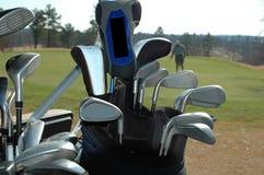 Clubes de golfe Imagem de Stock Royalty Free