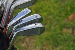 Clubes de golfe Imagens de Stock Royalty Free