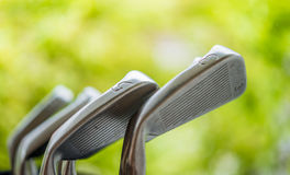Clubes de golfe Foto de Stock Royalty Free