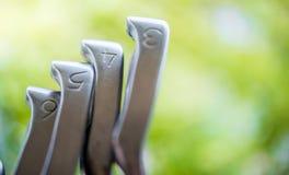 Clubes de golfe Fotos de Stock