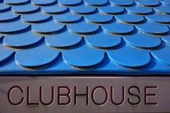 clubhouse imagen de archivo libre de regalías