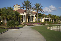 clubhouse florida Royaltyfria Bilder
