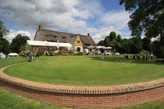 The clubhouse at Le Vaudreuil golf challenge, France Stock Photography