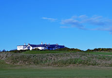 Clubhouse, Royal Aberdeen Golf Club, Aberdeen, Scotland Royalty Free Stock Photos