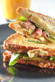 Clubhouse sandwich closeup Royalty Free Stock Image