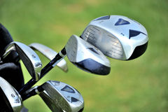 Clubs de golf photographie stock libre de droits
