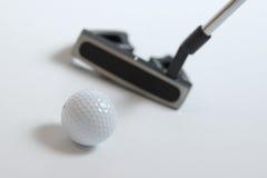 Clubs de golf Fotografía de archivo