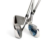 Clubs de golf Photos stock