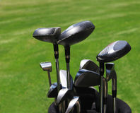 Clubs de golf Photographie stock libre de droits