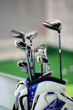 Clubs de golf Photo libre de droits