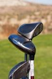 Clubs de golf Images libres de droits