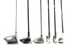 Clubs de golf photographie stock