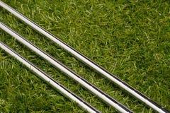 Clubs de golf o hierros del golf Imagenes de archivo