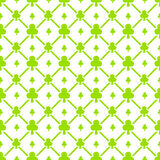 Clubs Seamless Pattern Royalty Free Stock Photography