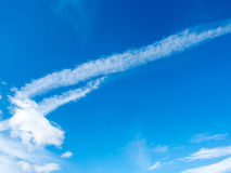 Cludy blue sky Stock Photography