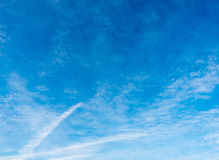 Cludy blue sky Royalty Free Stock Photography