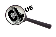 Clue Royalty Free Stock Images
