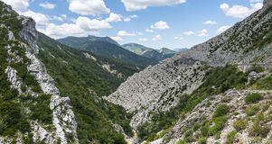 Clue de Taulanne, canyon in France Stock Image